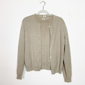 TSE 100% Cashmere Cardigan Sweater Twinset Medium